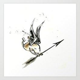 Winged Mook! Art Print