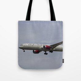 Virgin Atlantic Boeing 787 Tote Bag