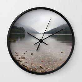 Scottish lake Wall Clock