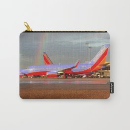 Southwest 737-700 with Rainbow Carry-All Pouch