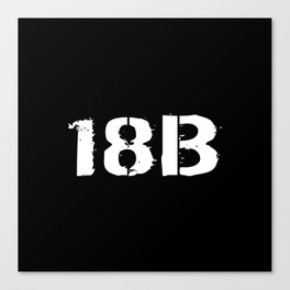 18B Special Forces Canvas Print