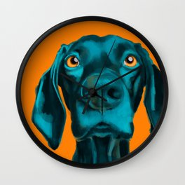 The Dogs: Buddy Wall Clock