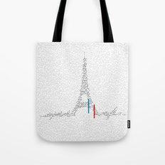 Eiffel Tower | Paris, France | Esperantos | StoryScape #1 Tote Bag
