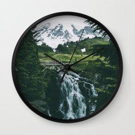 Myrtle Falls Wall Clock