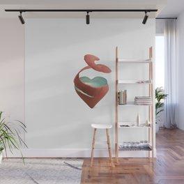 Heart Wall Mural