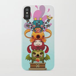 Monster´s Totem iPhone Case