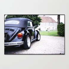 Vintage Volkswagon Beetle Canvas Print