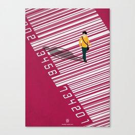 Urban Consumers Canvas Print