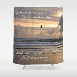 Heavens Rejoice Shower Curtain
