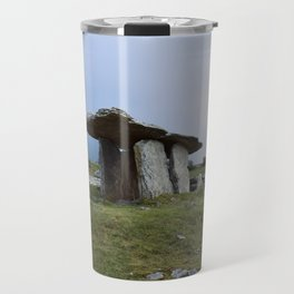 Pulnabrone Dolmen, Ireland Travel Mug