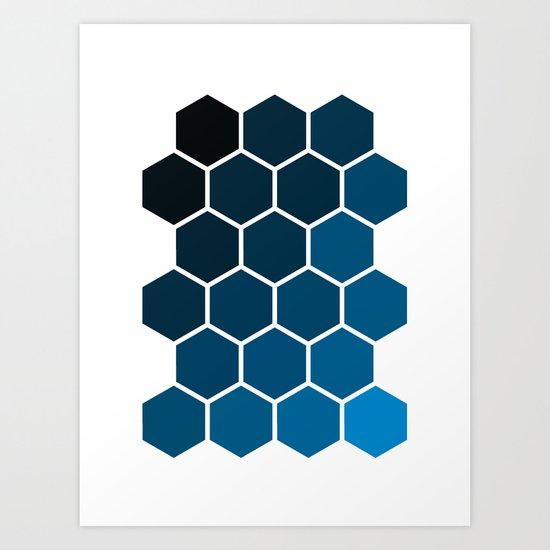 Geometric Abstraction II Art Print