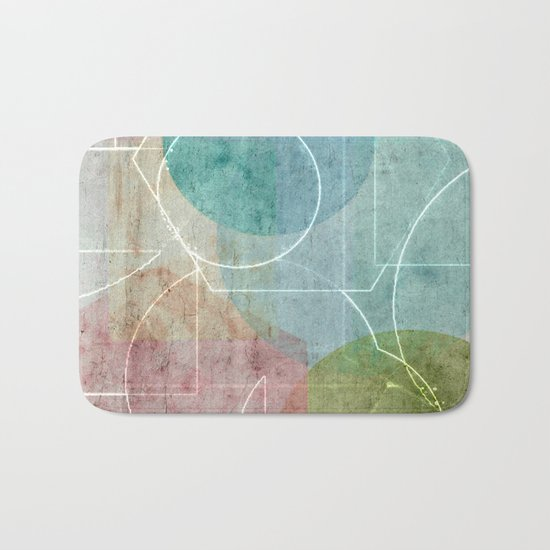 Area Map Bath Mat
