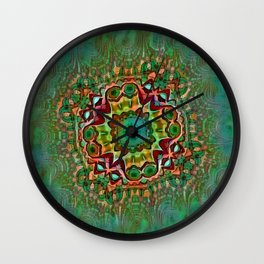 Nausea Pattern 2a Wall Clock