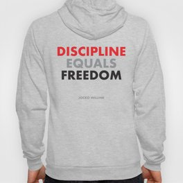 """Discipline Equals Freedom"" Jocko Willink Hoody"