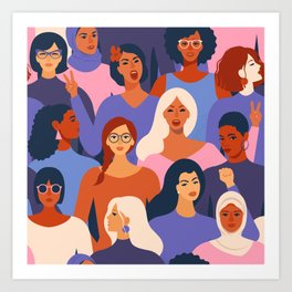 We are Women. We can do it! Art Print
