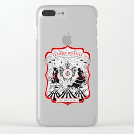 The Night Circus - light Clear iPhone Case
