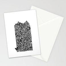 Typographic Pennsylvania Stationery Cards