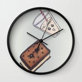 ice cream treat Wall Clock