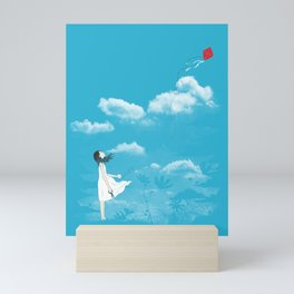 Let Go Mini Art Print