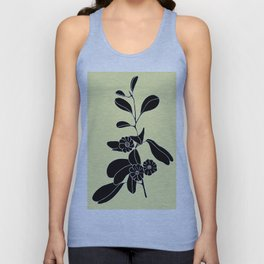 Goat's Foot (also known as Mauve Convolvulus, Beach Potato Vine, and Morning Glory) - Ipomoea pes-ca Unisex Tank Top