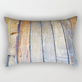 Floorboards Rectangular Pillow
