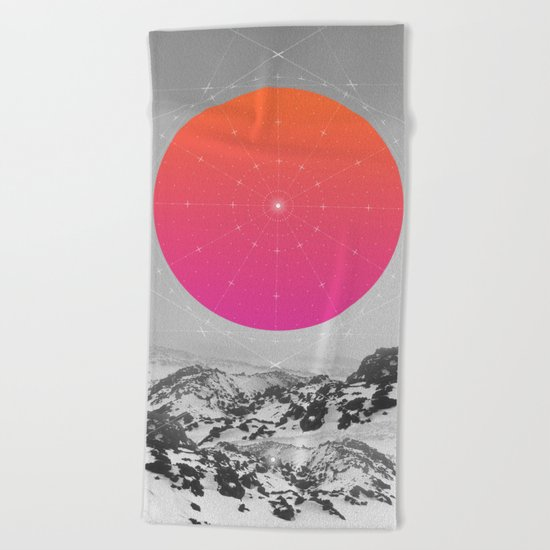 Middle Of Nowhere I Beach Towel