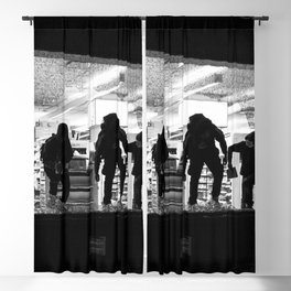 Looting NYC 2020 Blackout Curtain