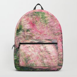 Pink Fairy (Muhly) Grass Backpack