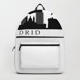 madrid skyline Backpack