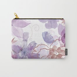 Rosie Outlook - muted purples Carry-All Pouch