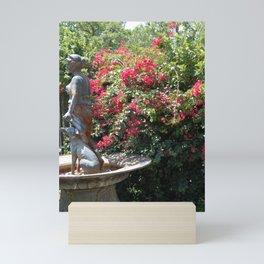 Where the Bougainvillea Grows Mini Art Print