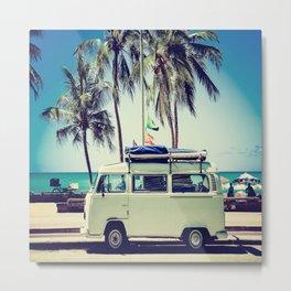 Caravan Life Metal Print