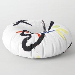 Joan Miro - Comet Bird (L'oiseau Comet) 1951 Artwork Floor Pillow