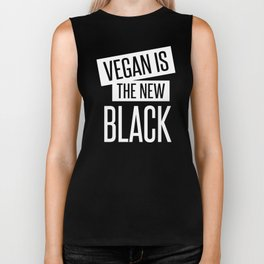 vegan is the new black. Biker Tank
