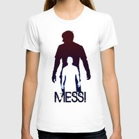 messi T-shirts featuring Leonel Messi by Sport_Designs