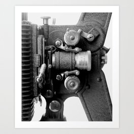 Projector  - Two Art Print