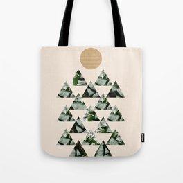 Tropical & Geometry II Tote Bag