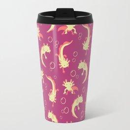 Relaxolotl - Rose Pink Travel Mug