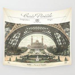 Paris Postcard #2 by Murray Bolesta Wall Tapestry