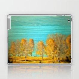 Ohrid Lake blue Laptop & iPad Skin
