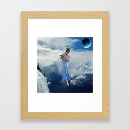 Cloud Magic Framed Art Print