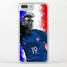 Paul Pogba - France Clear iPhone Case