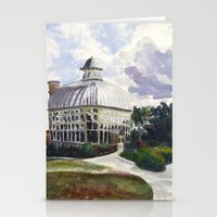 baltimore Stationery Cards featuring Baltimore Conservatory by Taylor Smith-Hams