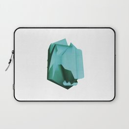 3D turquoise flying object  Laptop Sleeve