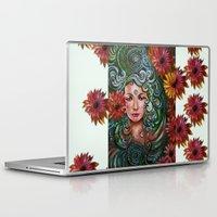 chakra Laptop & iPad Skins featuring Chakra Sadhna by Harsh Malik