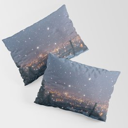 City Snow Pillow Sham