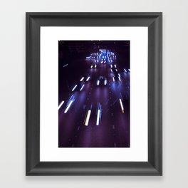 (purp)xSTREETZ(2) Framed Art Print