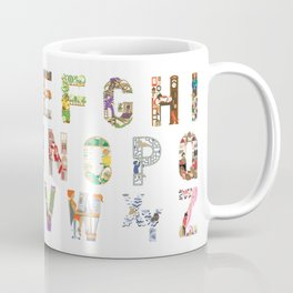 ABC of professions Coffee Mug