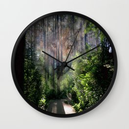 The Spirit of the Wild Wall Clock
