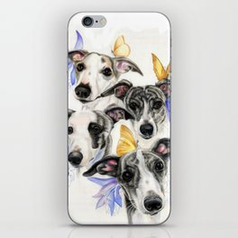 Whippets iPhone Skin